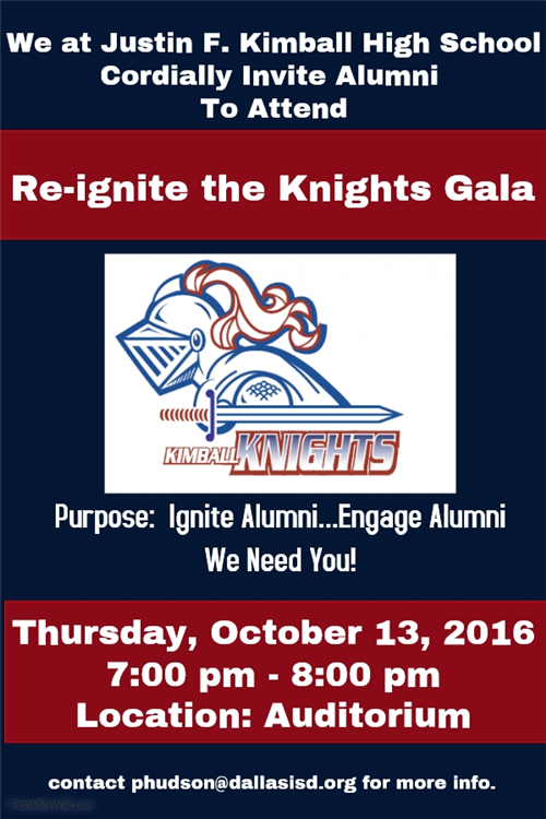 Reignite the Knights Gala