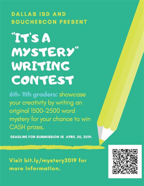 Mystery Writing Contest