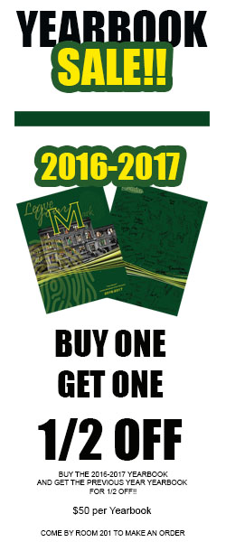 Yearbooks Onsale