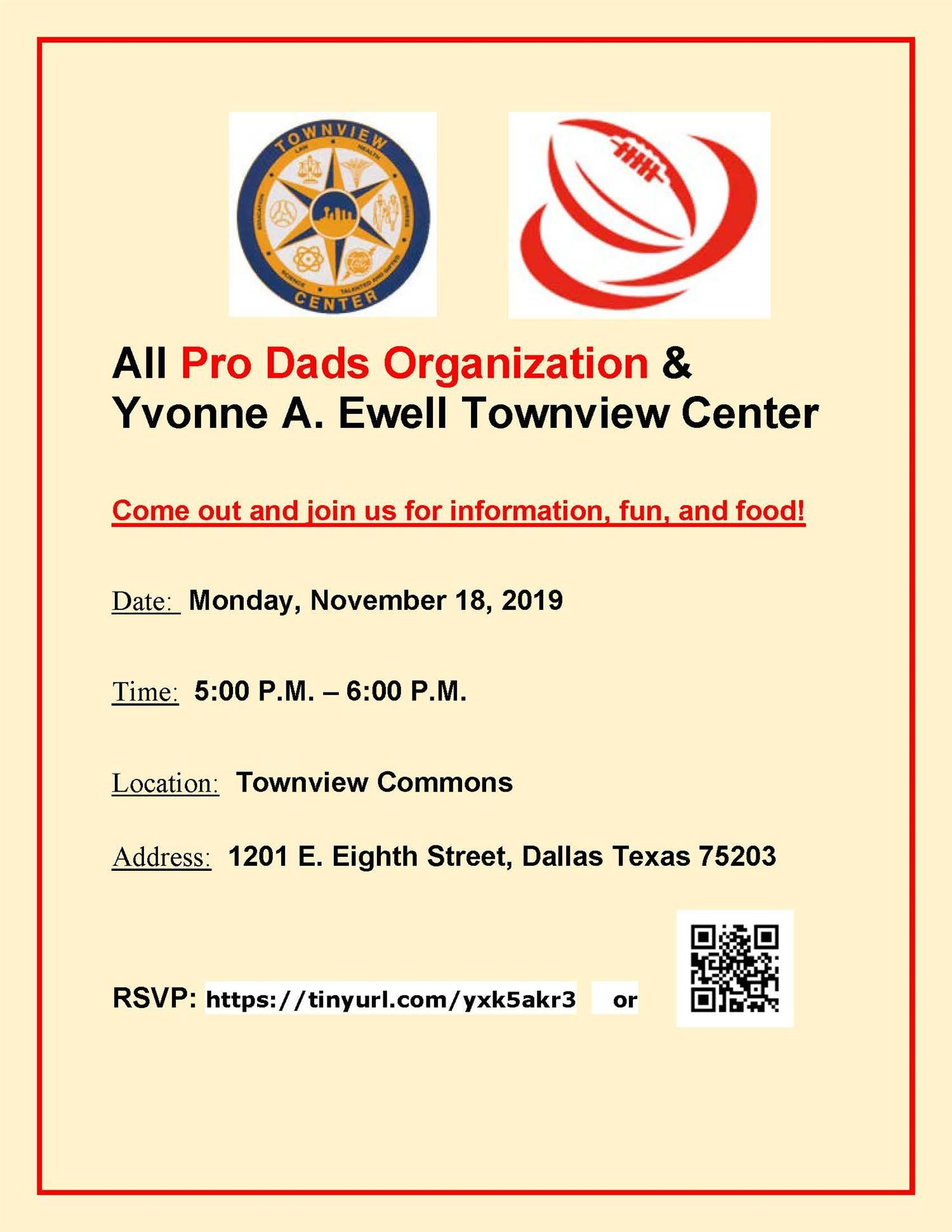 Please Join Townview-All Pro Dads
