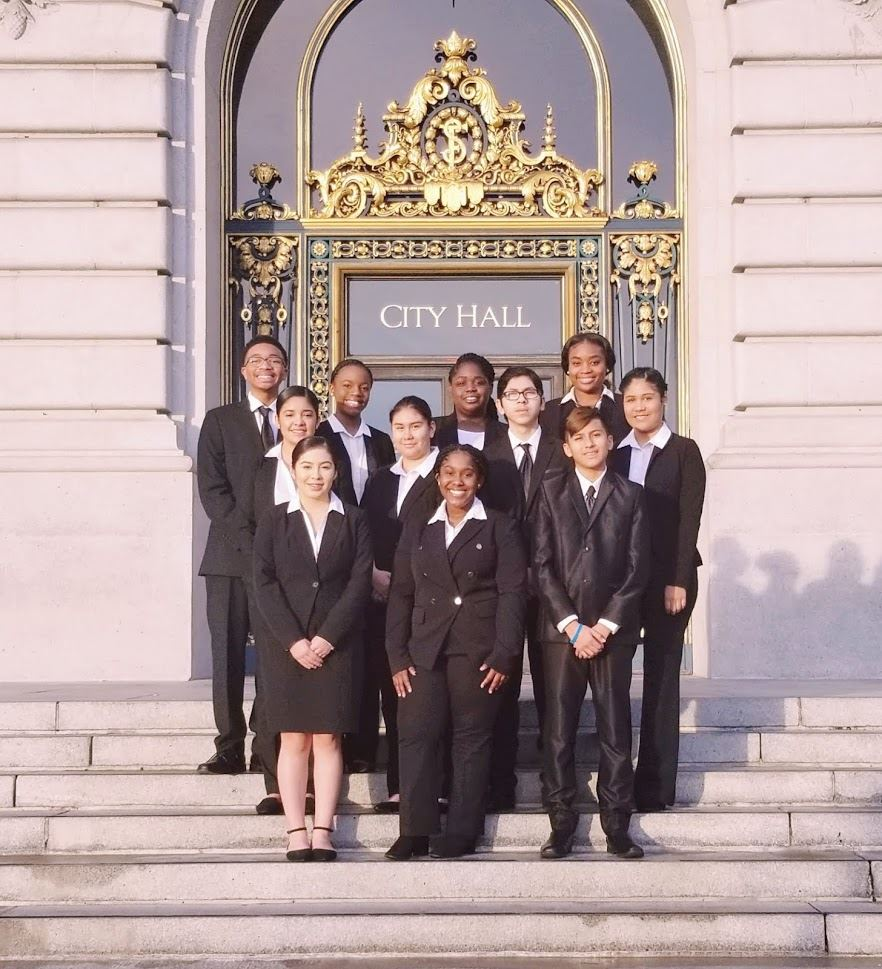 ESSM Mock Trial Team at Empire Mock Trial Competition in San Francisco