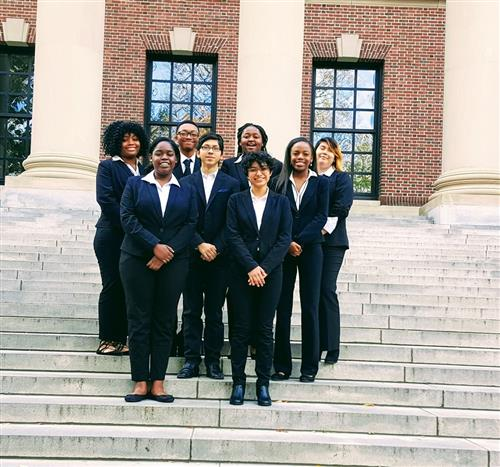 Mock Trial Team Visits Harvard University