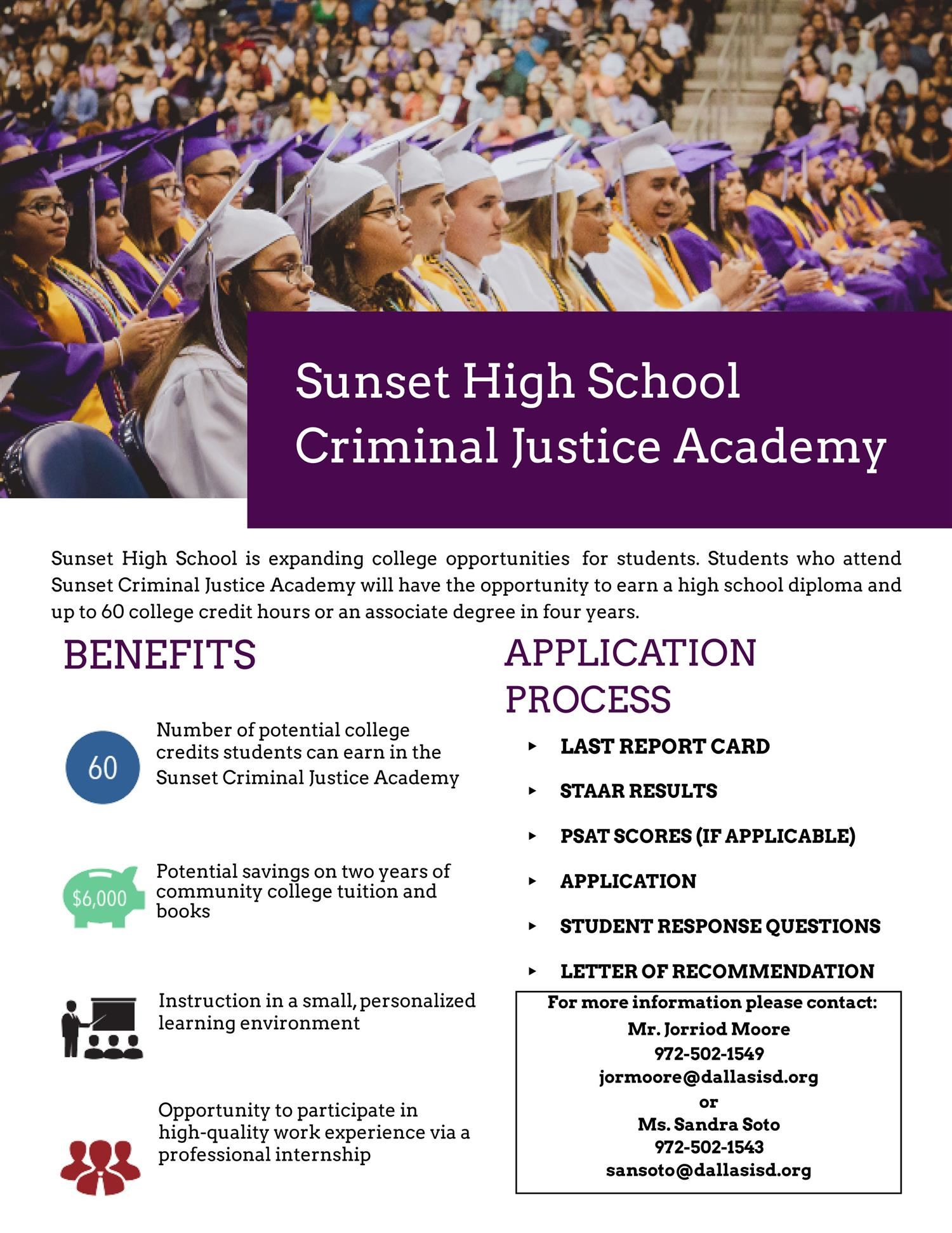 Law Academy Flyer