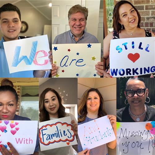 We are still working with Families