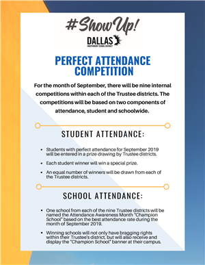 Perfect Attendance Competition