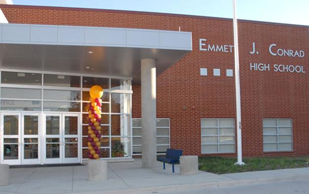 Emmett J Conrad High School Emmett J Conrad High School